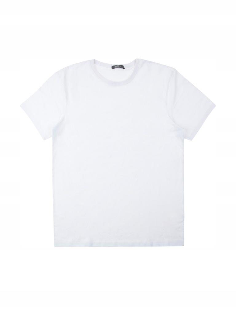 TXM T-shirt męski basic XXL BIAŁY