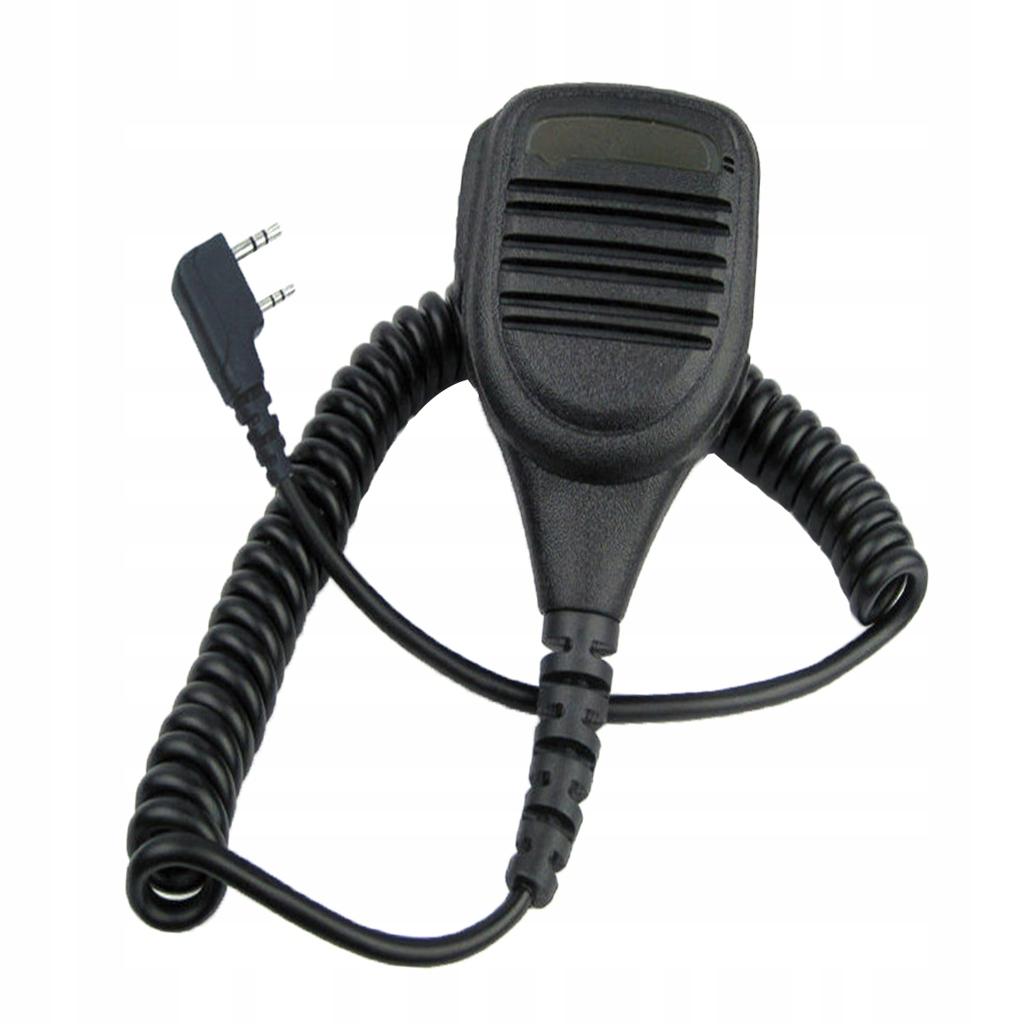 Mikrofon głośnikowy czarny