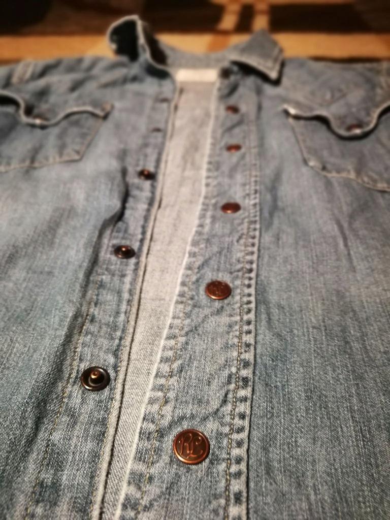 Koszula Jeansowa POLO RALPH LAUREN S Świetna 7886841213  sLejX