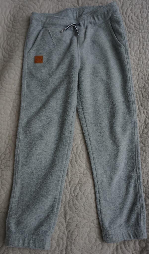 Spodnie polarowe szare Cool Club SMYK rozmiar 122