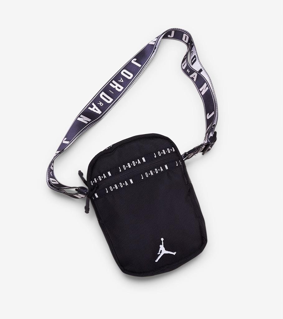 Torba Nike Air Jordan Taping Pack Bag Black white