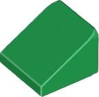 LEGO SKOS 30° 1X1 ZIELONY 4546705 54200 2SZT (N)