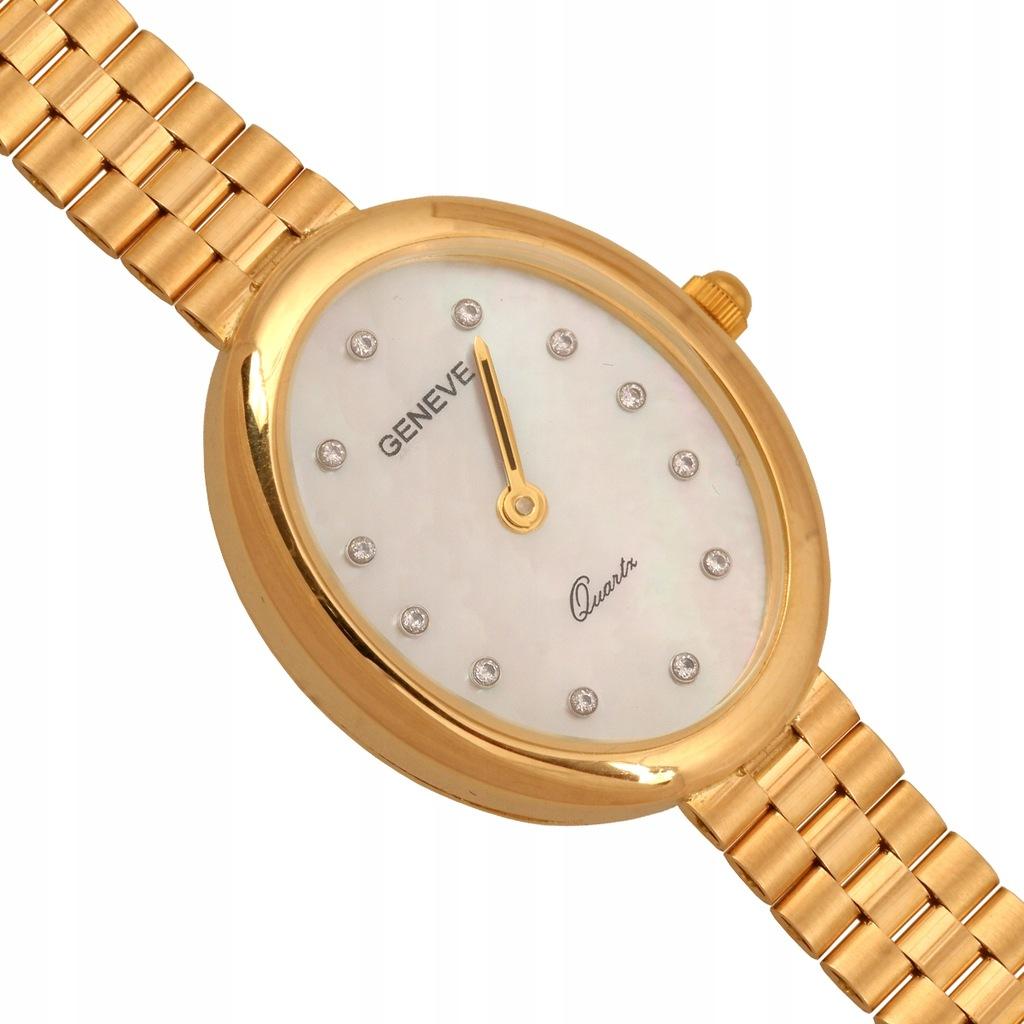 Zegarek Złoty damski Zv302 585 27.95 g dł. 19 cm