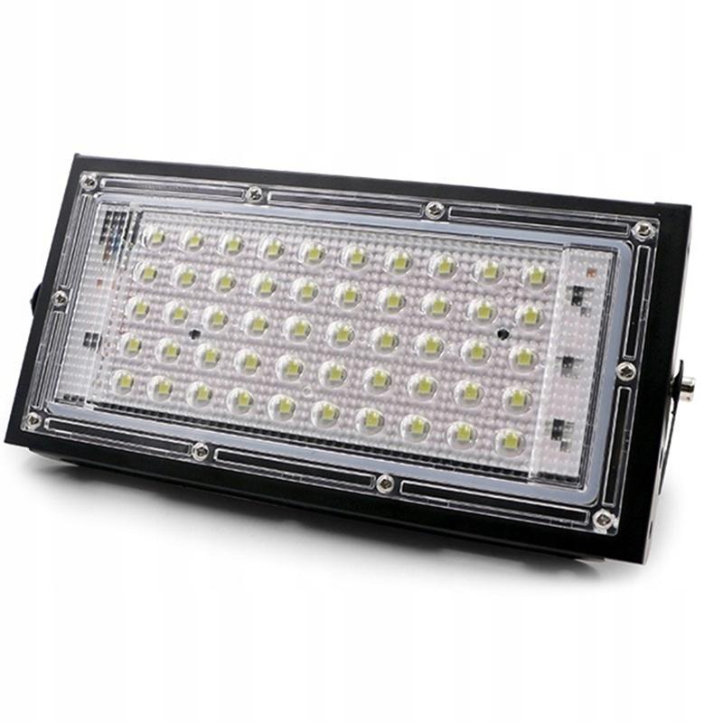 Lampa Naświetlacz LED 50W biały ciepły