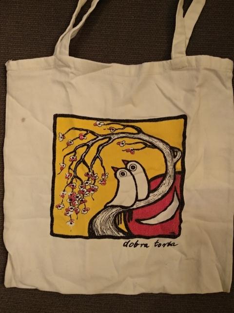 płócienna DOBRA torba z Woodstocku