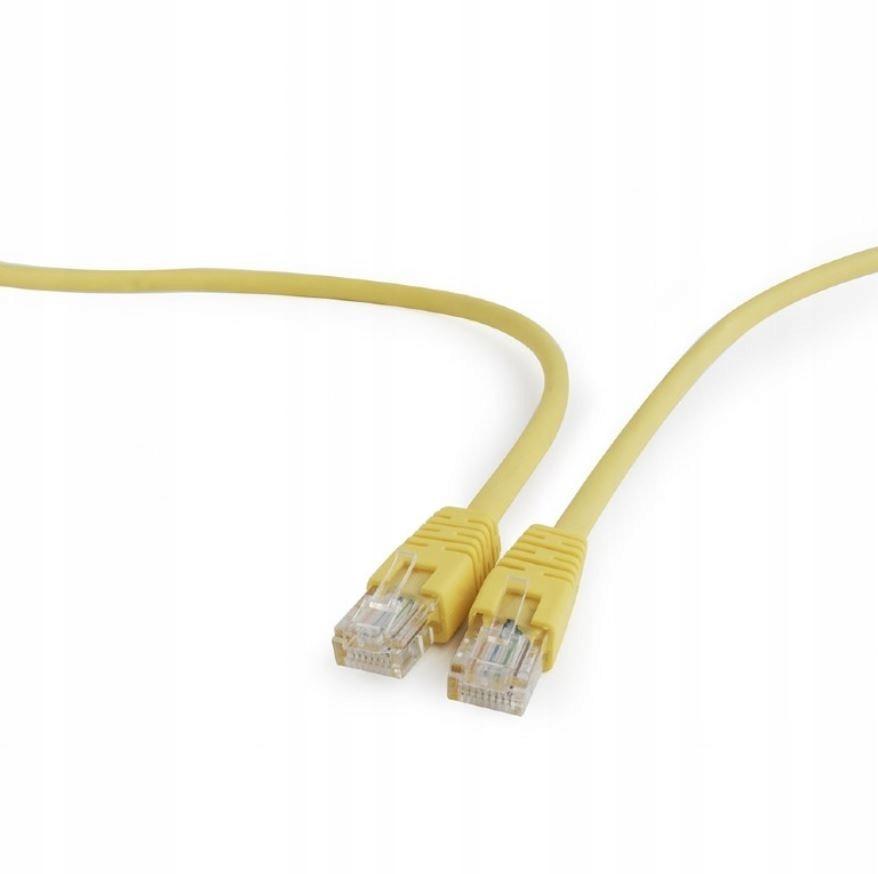 Patch cord kat.5e osłonka zalewana 2M żółty