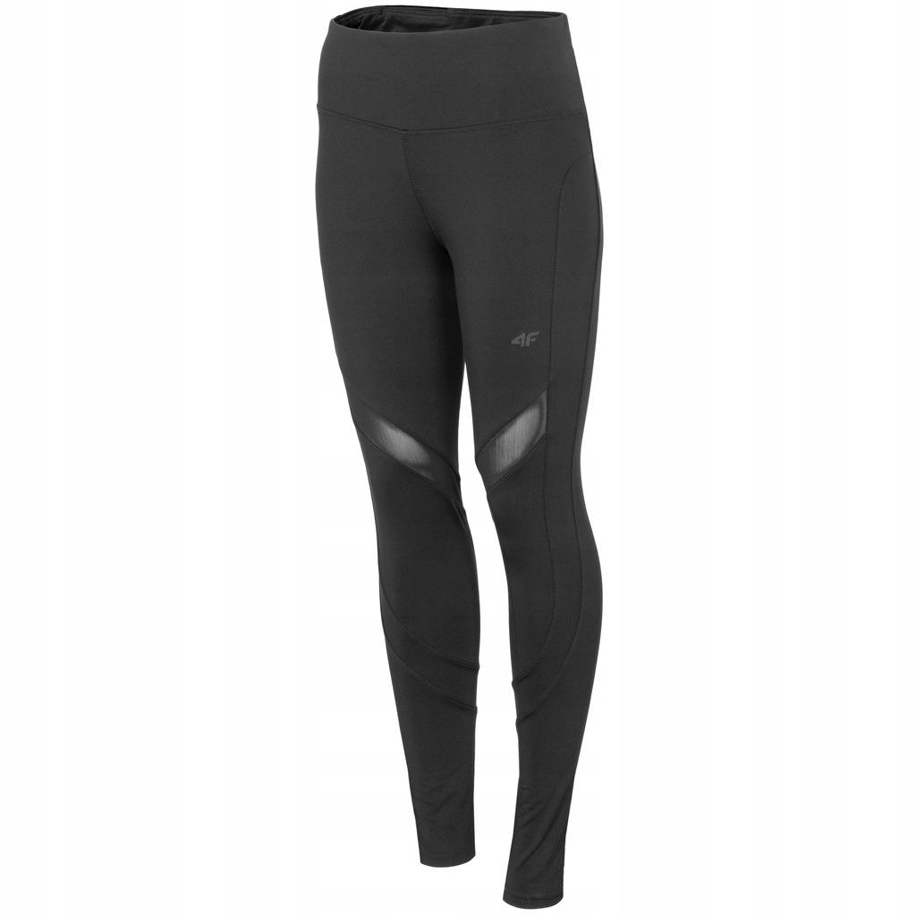 4F LEGGINSY damskie BIEGANIA spodnie funkcyjne XXL