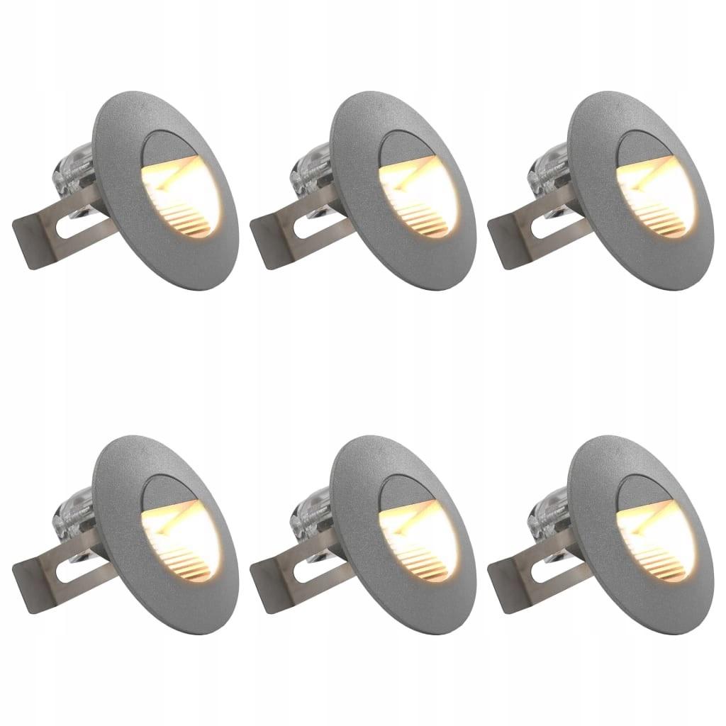 LAMPA LAMPY ŚCIENNE ZEWNĘTRZNE LEDOWE 6 SZTUK 5 W