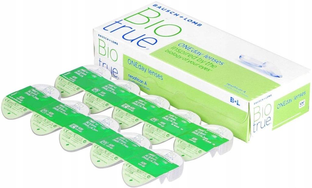 B4 Soczewki Bausch & Lomb Biotrue -4,75 30SZT