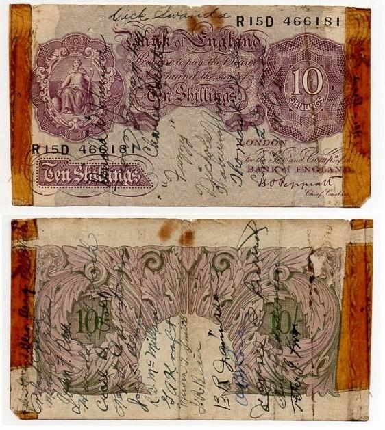 WIELKA BRYTANIA / ANGLIA 1940-48 10 SHILLINGS