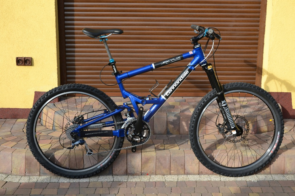 Cannondale Jekyll Bomber Fox Deore LX Hayes M 26`