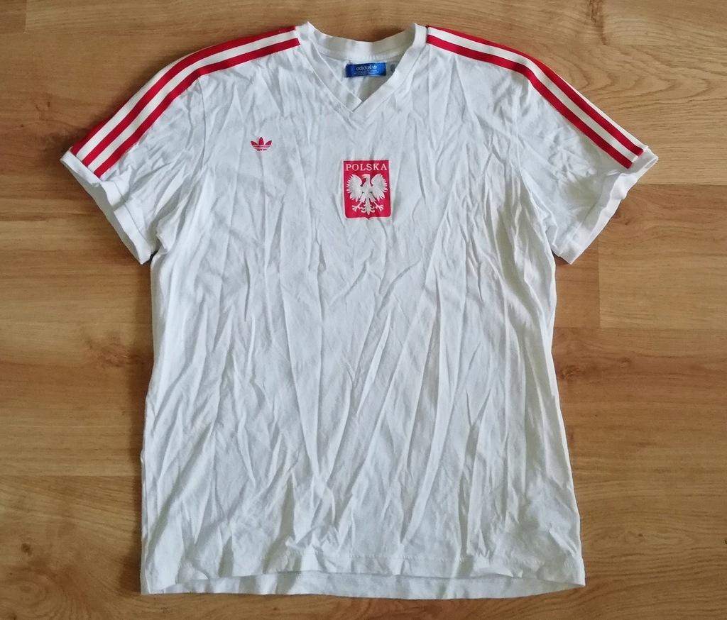 Koszulka Adidas Originals Polska Retro Vintage XL