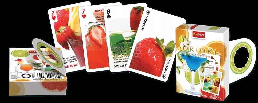 KARTY - OCZKO - DRINKI TREFL, TREFL