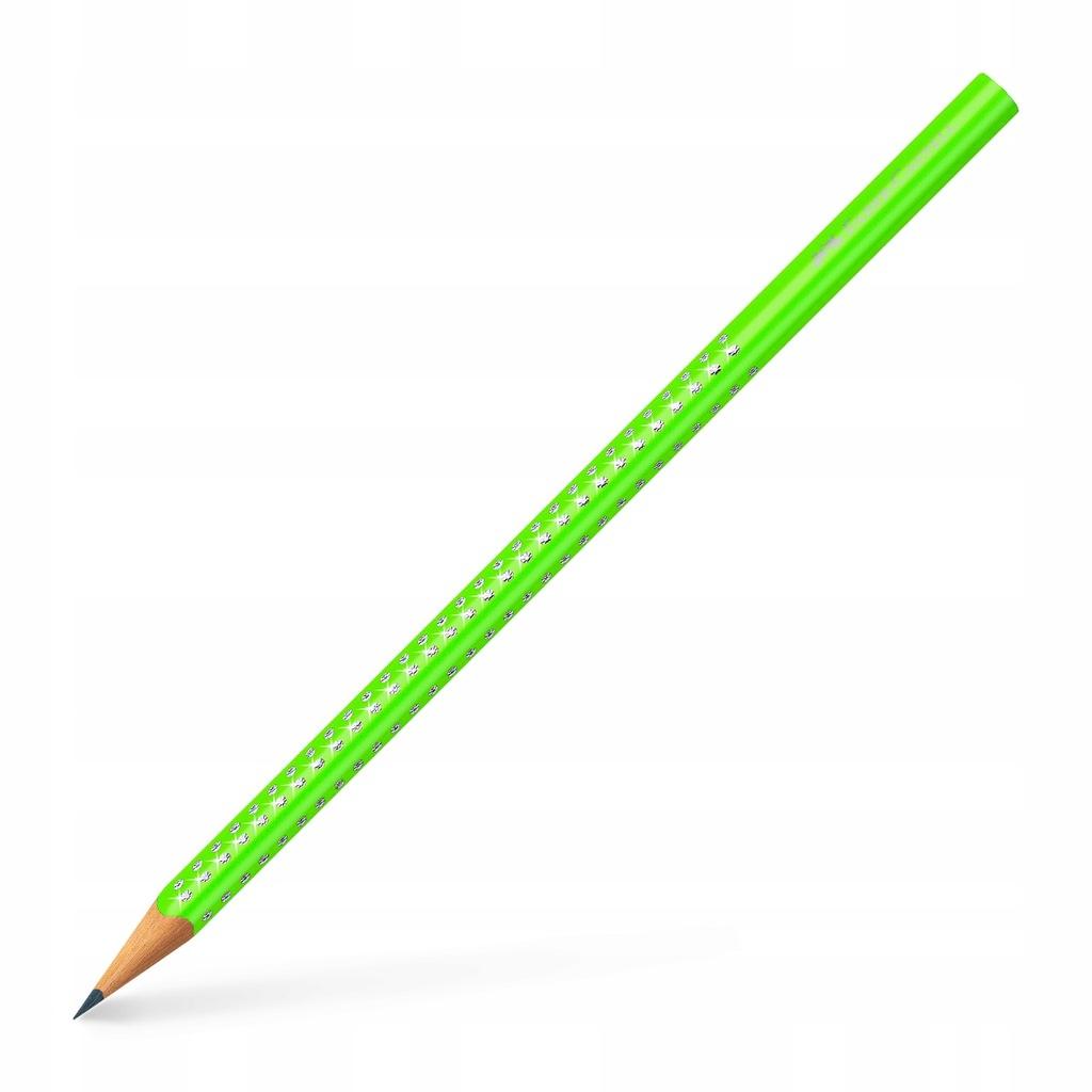 FABER-CASTELL Ołówek Sparkle zielony jasny