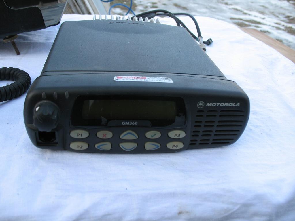 Motorola GM-360 LB (42 - 50 MHz)