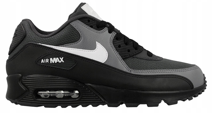 Nike Air Max 90 Essential 537384 097 | Czarny, Srebrny