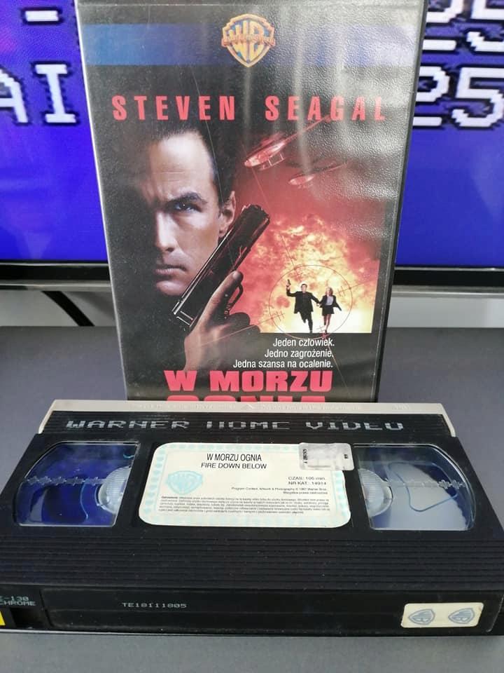W morzu ognia - VHS