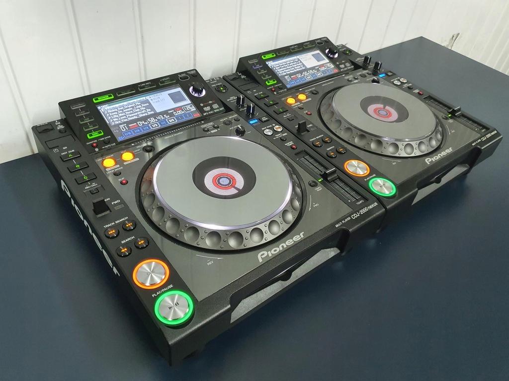 2X Pioneer CDJ 2000 NEXUS NAJTANIEJ 2000 xdj djm