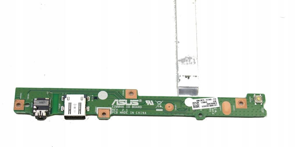 Włącznik Przycisk POWER Audio USB Asus E200H