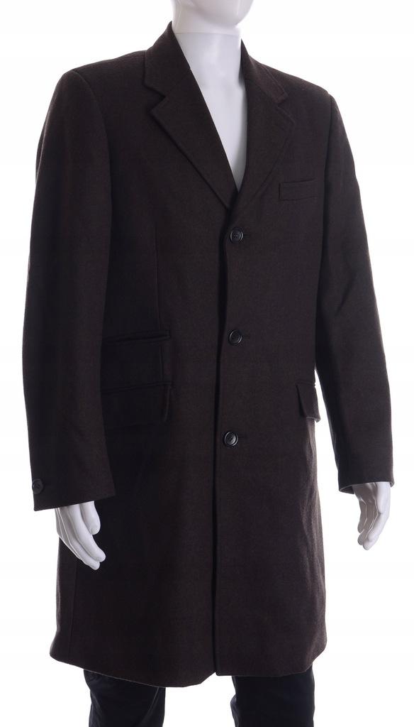 płaszcz jesienno zimowy męski hm