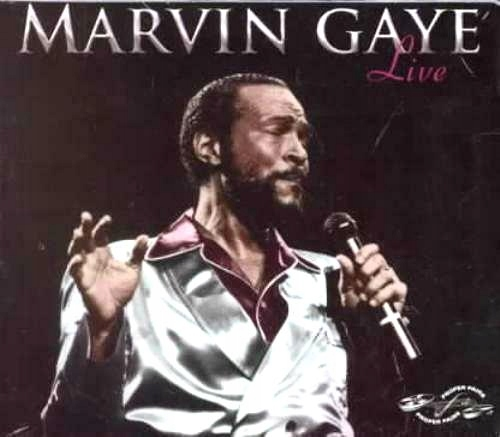 MARVIN GAYE Live 2CD _ RARYTASOWY KONCERT SOUL