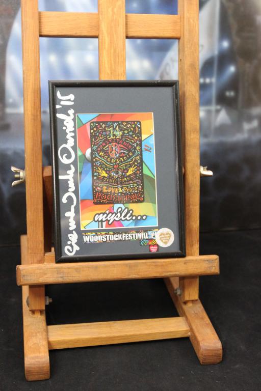 Karta telefoniczna z Przystanku Woodstock 1995r.