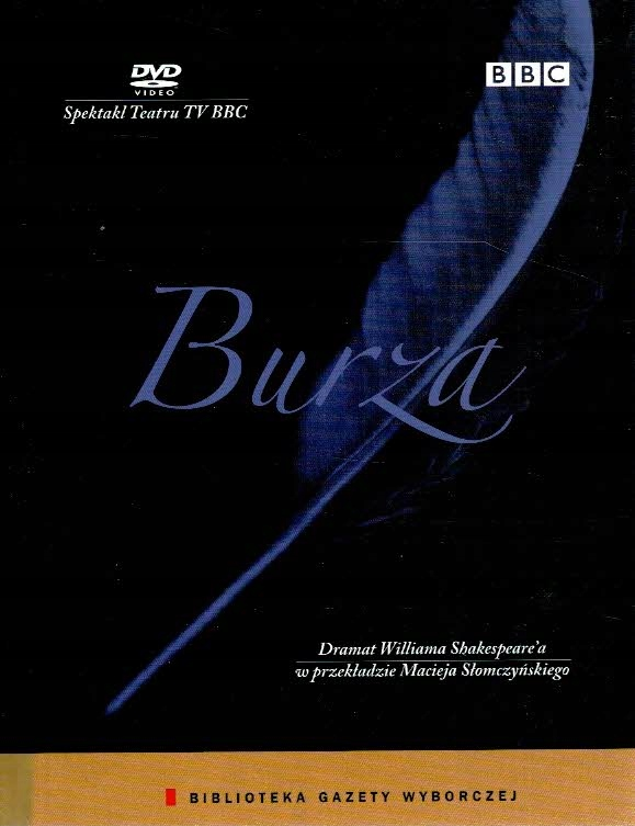 Shakespeare - Burza [DVD] BBC