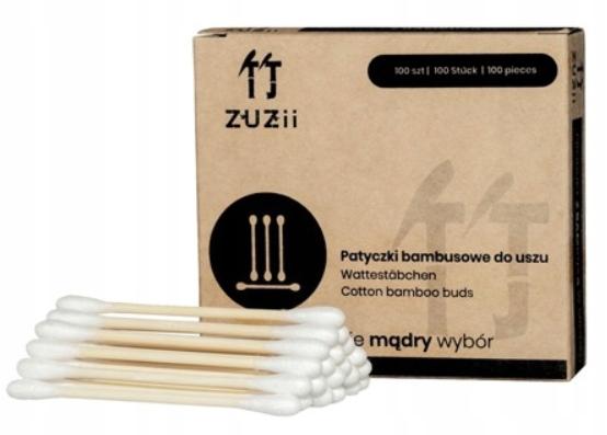 Patyczki higieniczne do uszu, bambusowe, Eko!