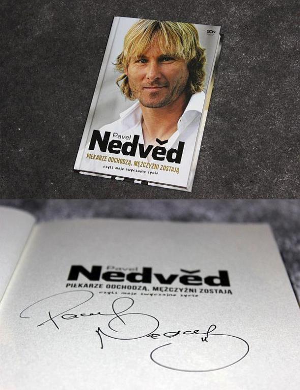 Juve książka Pavel Nedved z AUTOGRAFEM! JuvePoland