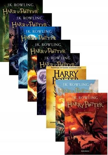 Harry Potter Przeklete Dziecko Pakiet Tom 1 8 7767384771 Oficjalne Archiwum Allegro