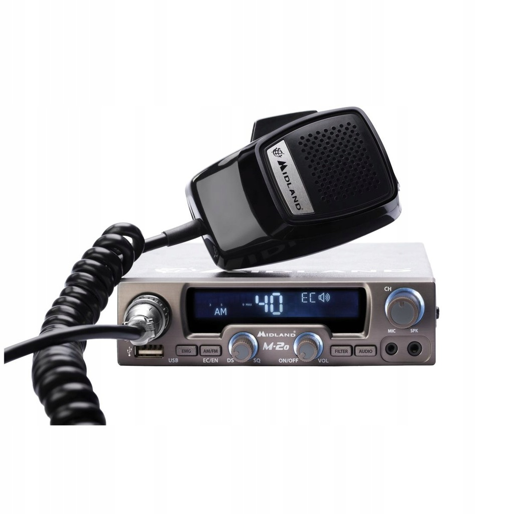 Radio CB ALAN MIDLAND M-20 12V AM/FM