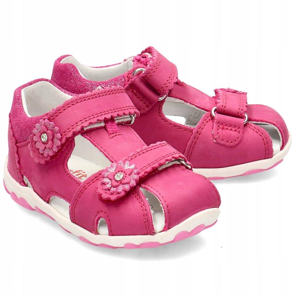 Superfit Różowe Sandały Dziecięce R.25