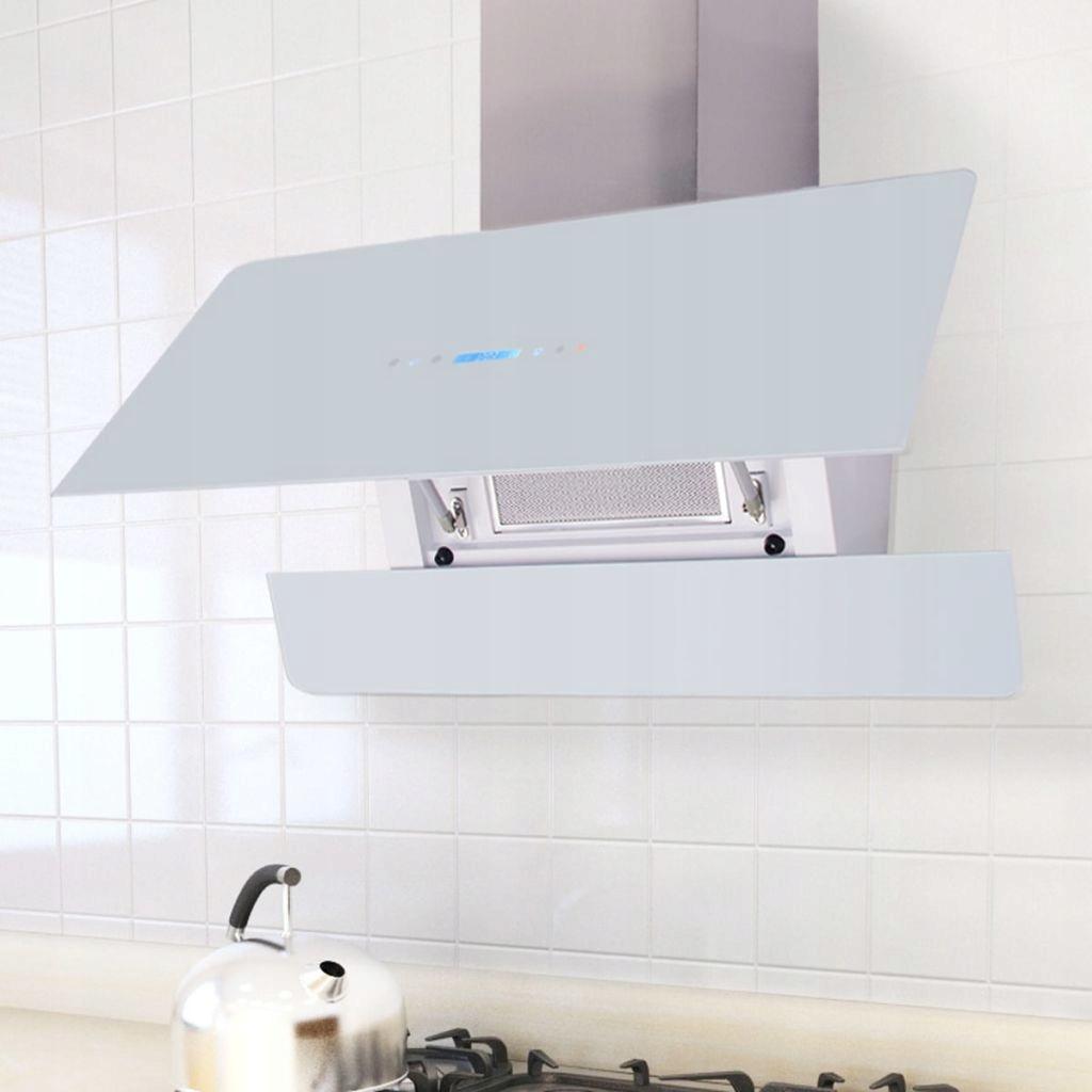 Okap kuchenny z dotykowym wyświetlaczem, 900 mm, b