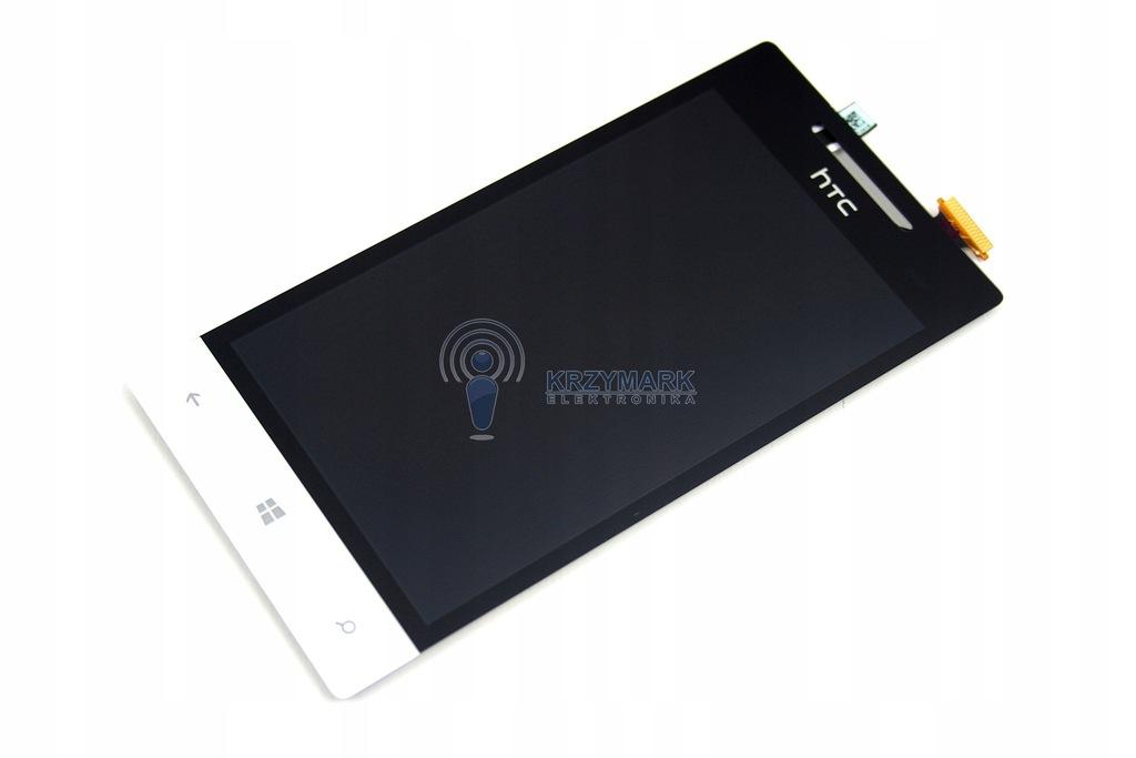 LCD WYŚWIETLACZ DOTYK HTC WINDOWS PHONE BIAŁY 8S