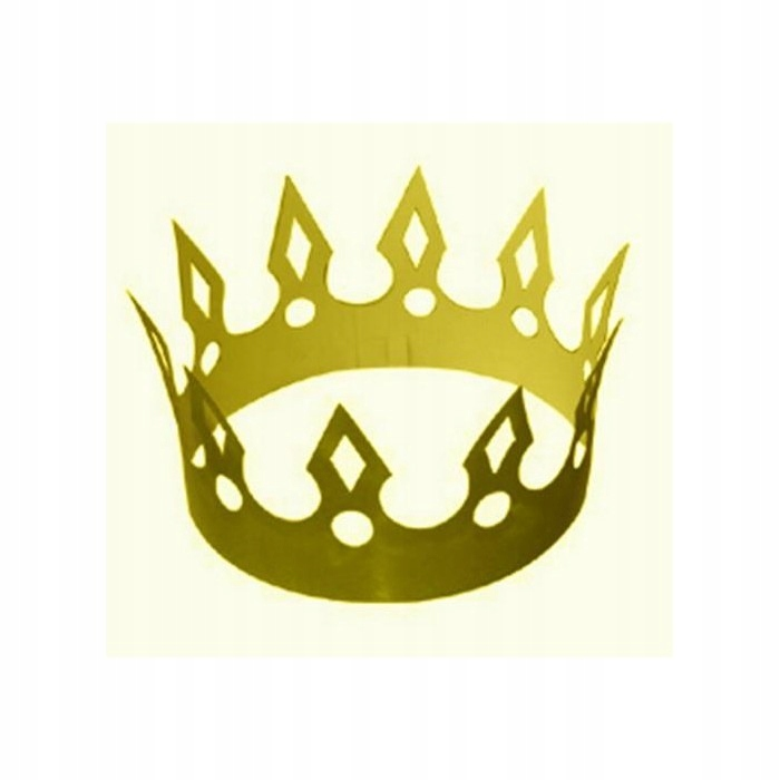 Korona Papierowa Zlota Krol Krolowa Ca307 7593028035 Oficjalne Archiwum Allegro