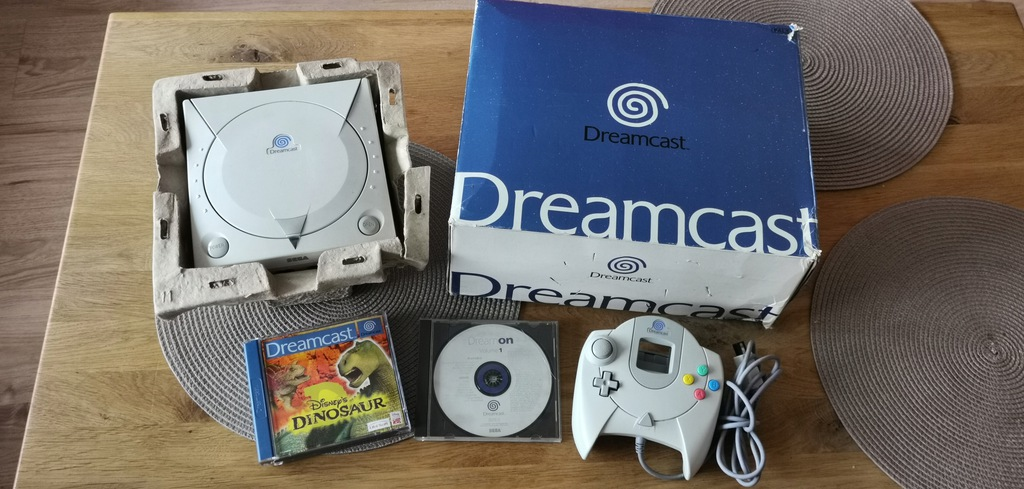 Sega Dreamcast zestaw