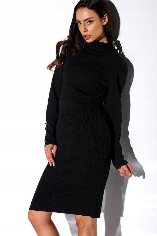 Sukienka LS271 czarny - Lemoniade