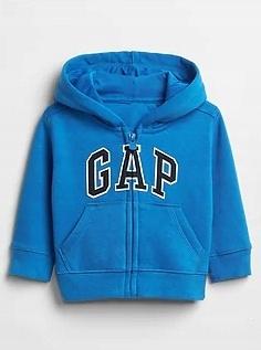 GAP bluza z kapturem niebieska na 4 LATA*104* NOWA