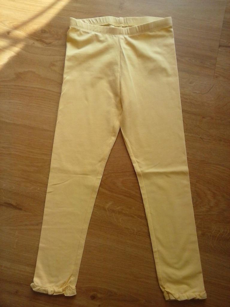 Lupilu - legginsy - żółty r.110/ 116