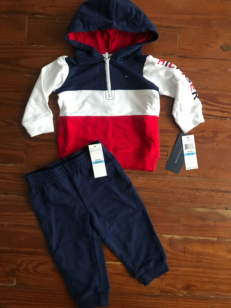 Tommy Hilfiger dres 6-9M 68-74cm nowy