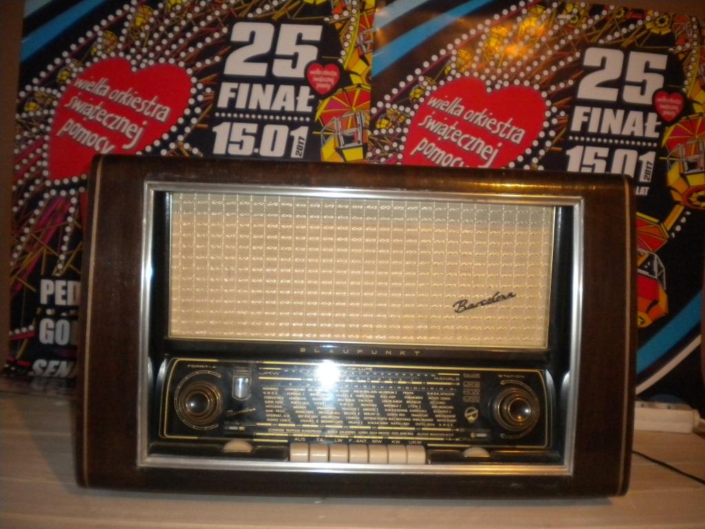 Radio lampowe Blaupunkt model Barcelona - SPRAWNE