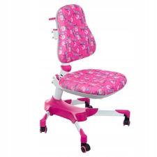 Fotel dla dzieci do biurka BX-001 Różowy