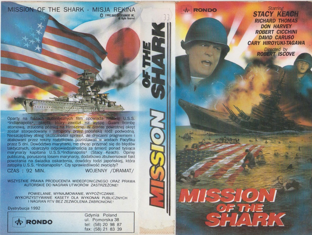 MISJA REKINA - VHS 54KA