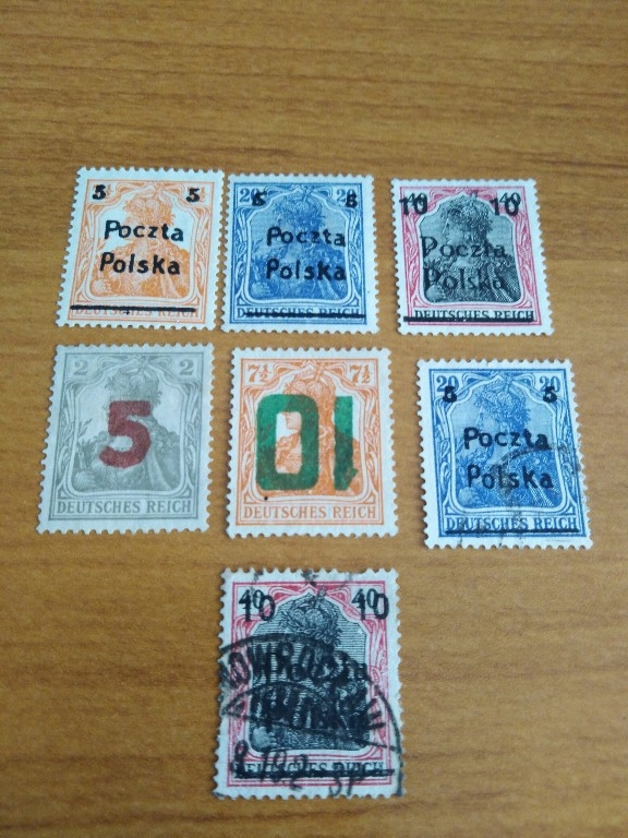 1919 fi.67-68*71-72*/68 70kas POCZTA POLSKA