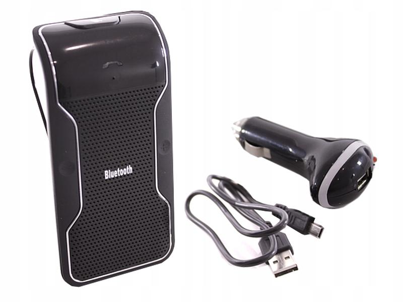 Zestaw głośnomówiący dla kierowcy na dwa telefony