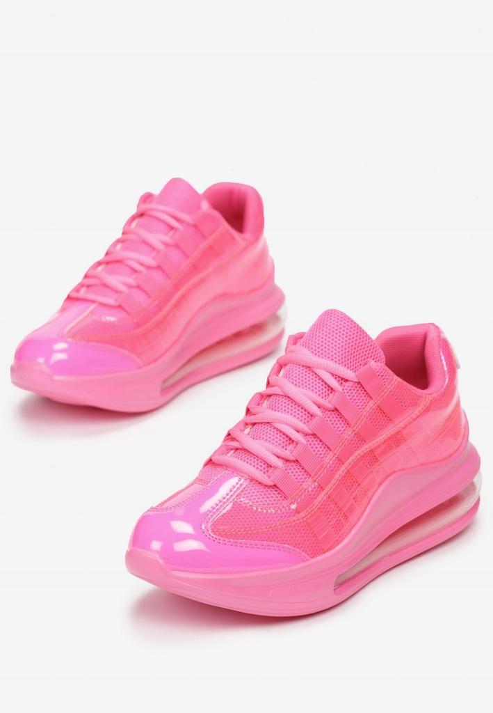 Fuksjowe Sneakersy 41