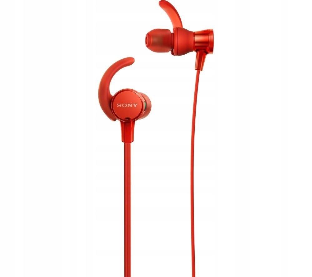 Słuchawki douszne MDR-XB510ASR, czerwone
