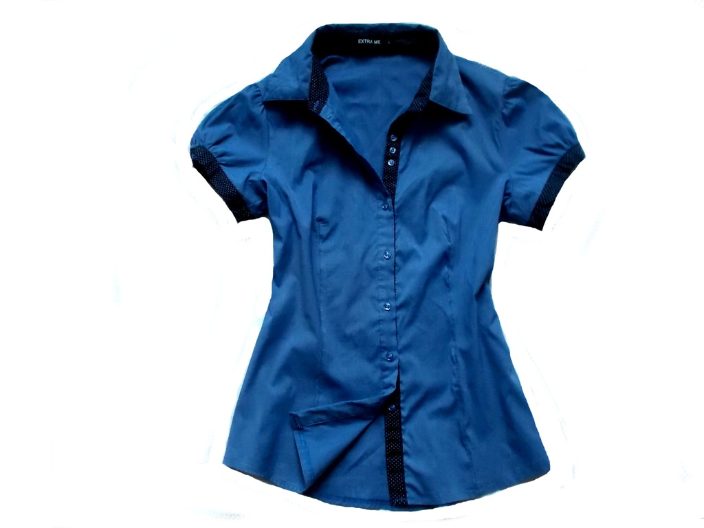Extra Me super koszula groszki.Smałe M 8177586545