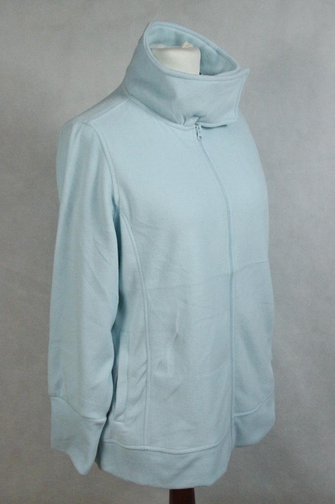 bluza rozpinana polar stójka damska rzep