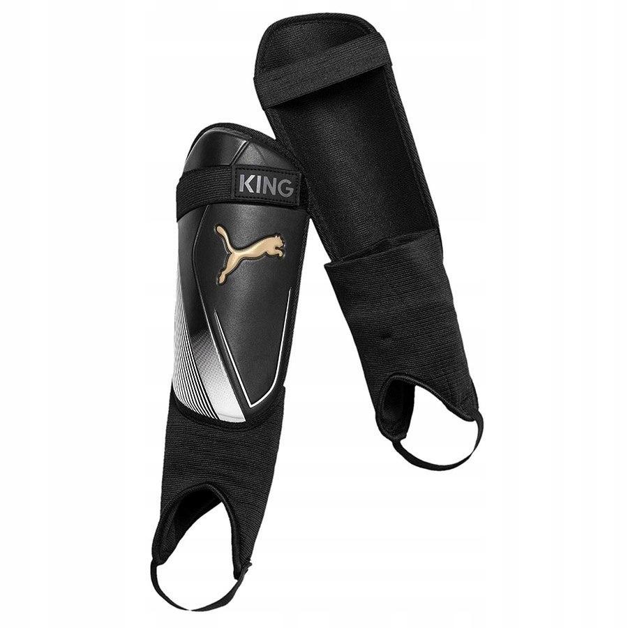 Ochraniacze Piłkarskie Puma King czarne L